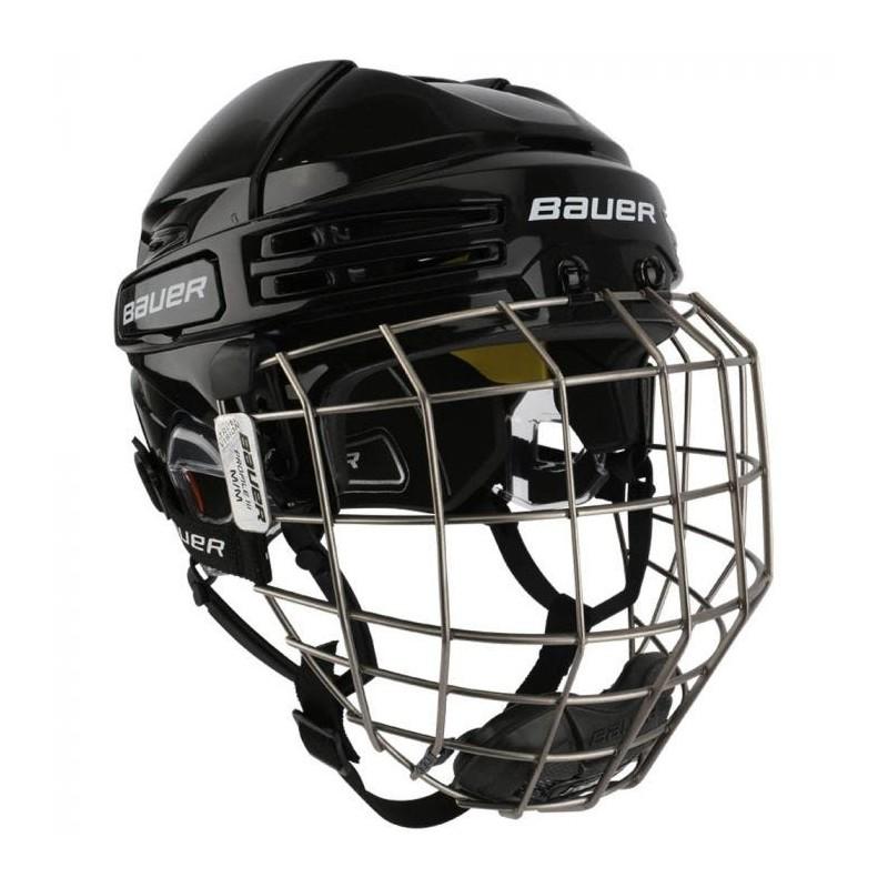 Bauer Re-Akt 75 Hockey Helmet Combo