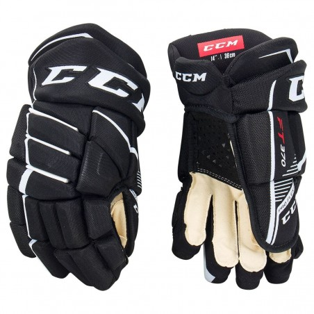 CCM JetSpeed FT370 Hockey Gloves-Junior