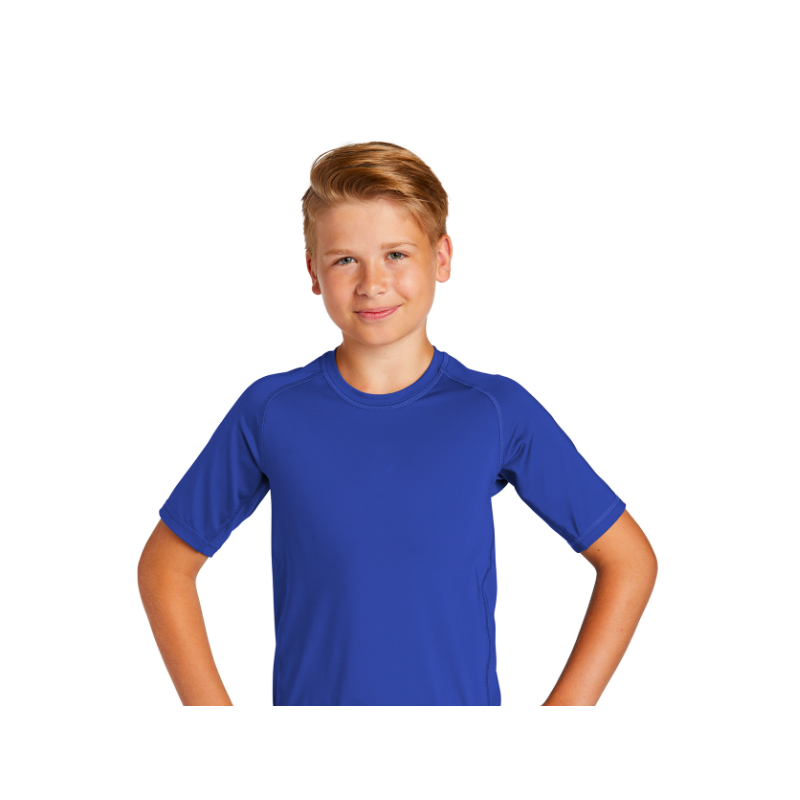 Helena Lions Swim Sport-Tek ® Youth Rashguard Tee