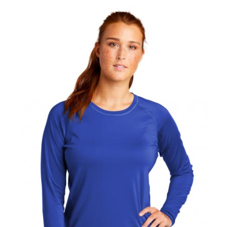 Helena Lions Swim Sport-Tek ® Ladies Long Sleeve Rashguard Tee