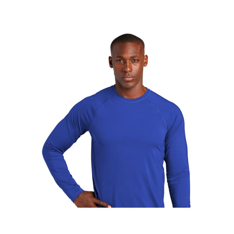 Helena Lions Swim Sport-Tek ® Long Sleeve Rashguard Tee