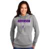 JHS Port & Company ® Ladies Core Fleece Pullover Hooded Sweatshirt