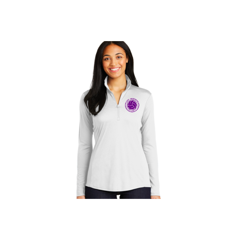 """JHS Volleyball 1/4"""" Sport-Tek® Ladies PosiCharge® Pullover"""