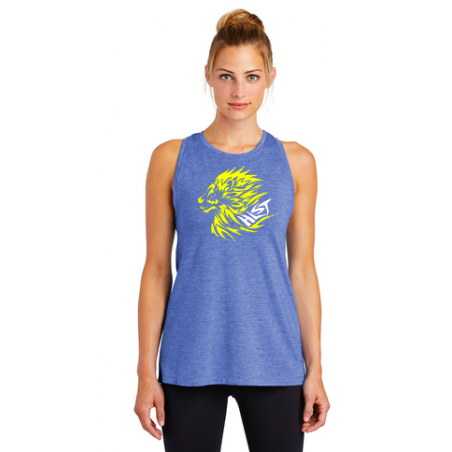 Helena Lions Swim Team Sport-Tek® Ladies PosiCharge® Tri-Blend Wicking Tank